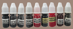 Refill ink for funny stamps